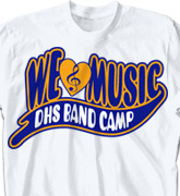 Band Camp T Shirt - Superscript - clas-124z1