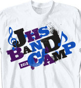 Band Camp T Shirt - Randomizer - desn-301r4