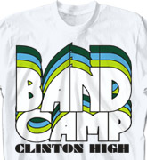 Band Camp T Shirt - Nassau - clas-792p2
