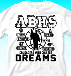 College Bound Shirt Designs - College Dreams - cool-700c3