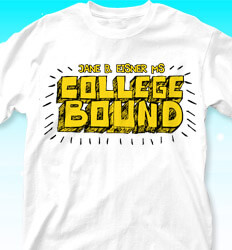 College Bound Shirt Designs - Chatter - clas-681s4