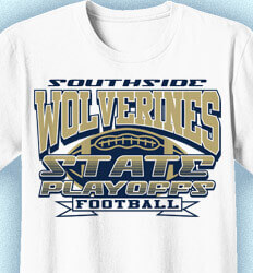 Football T-Shirt Designs - State Classic Playoffs - idea-58s1