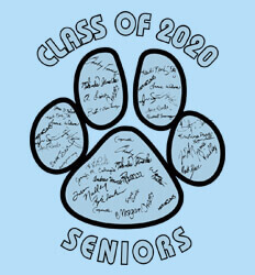 High School Signature Template - Paw Names - clas-906t1