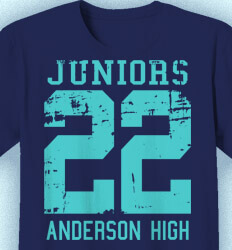 Junior Class Shirts - Old Jersey - clas-448w1