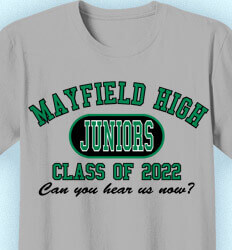 Junior Class Shirts - Athletic - clas-480s3