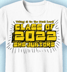 Junior Class Shirts - Chatter - clas-681s7