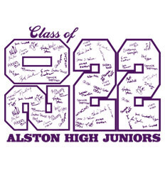 Junior Class Shirts Ideas - Stack Up Year - desn-601t8