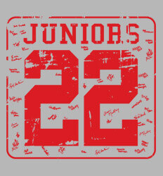 Junior Class Shirts Ideas - Old Jersey - clas-448w2