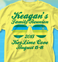 KeyLime Cove Shirt Design - Shades of Summer desn-361s4