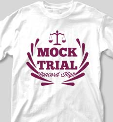 Mock Trial Shirts - Trial Balance cool-205t1