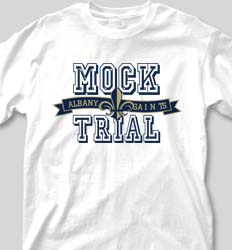 Mock Trial Shirts - Jersey Banner clas-827m8