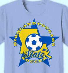 Soccer Shirt Designs - All Star State - cool-823a2