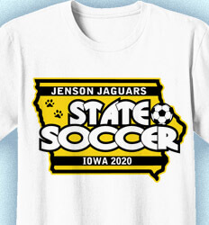 Soccer Shirt Designs - Championship State - cool-842c2