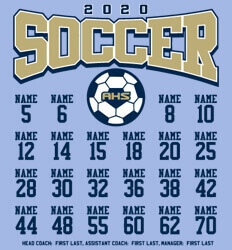 Soccer Shirt Ideas - Soccer Unified Roster - idea-348s1