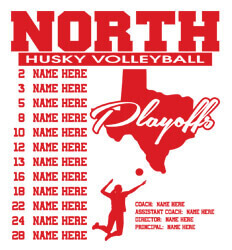 Volleyball Roster Designs - State Playoffs Roster - idea-220s1