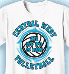 Volleyball Shirt Designs - Extruded - clas-692g8